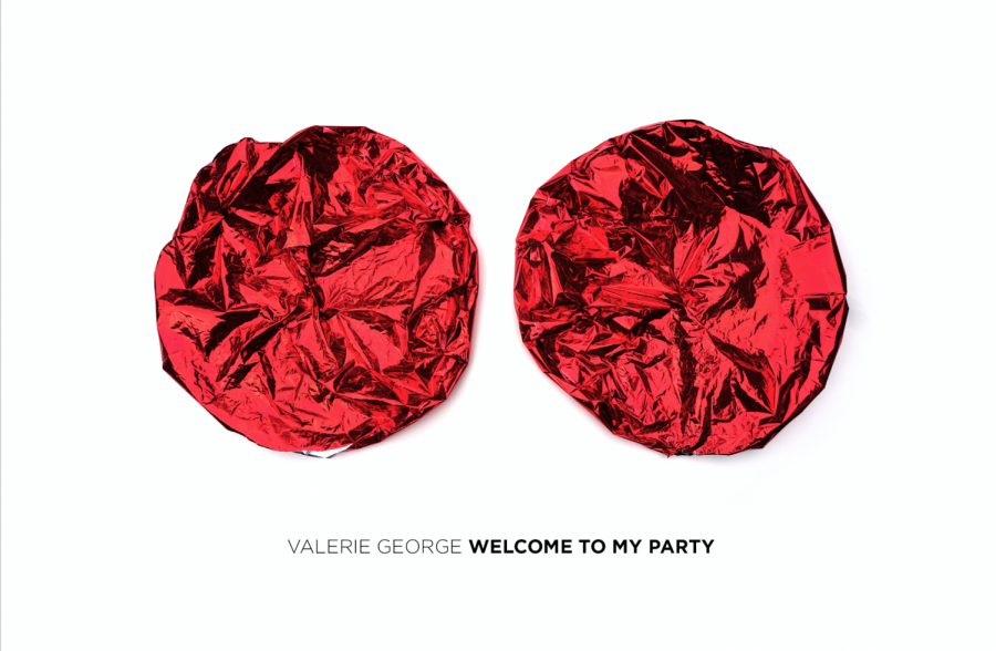 From+Valerie+George%27s+art+exhibit.+The+piece+is+titled+%22Welcome+to+my+Party%22.