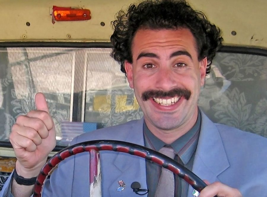 """Borat Subsequent Moviefilm,"" a film review"