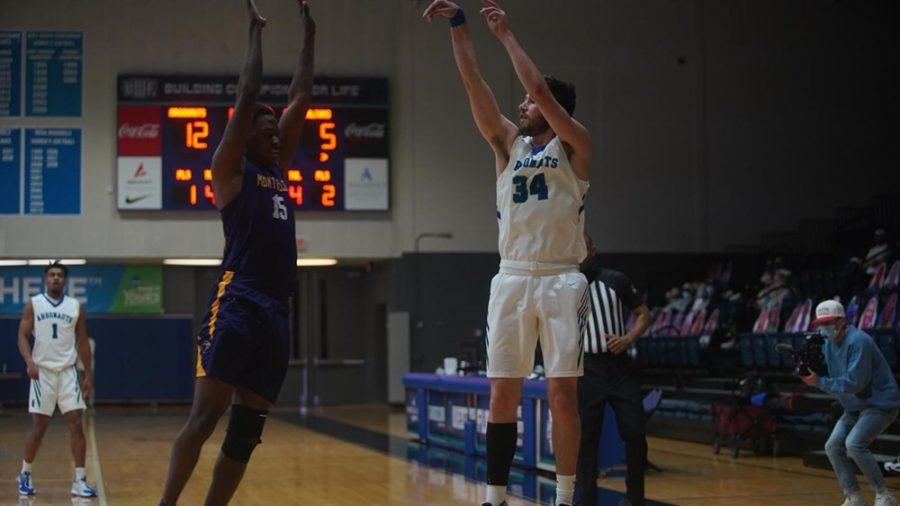 Men's Basketball defeats Montevallo, 85-75
