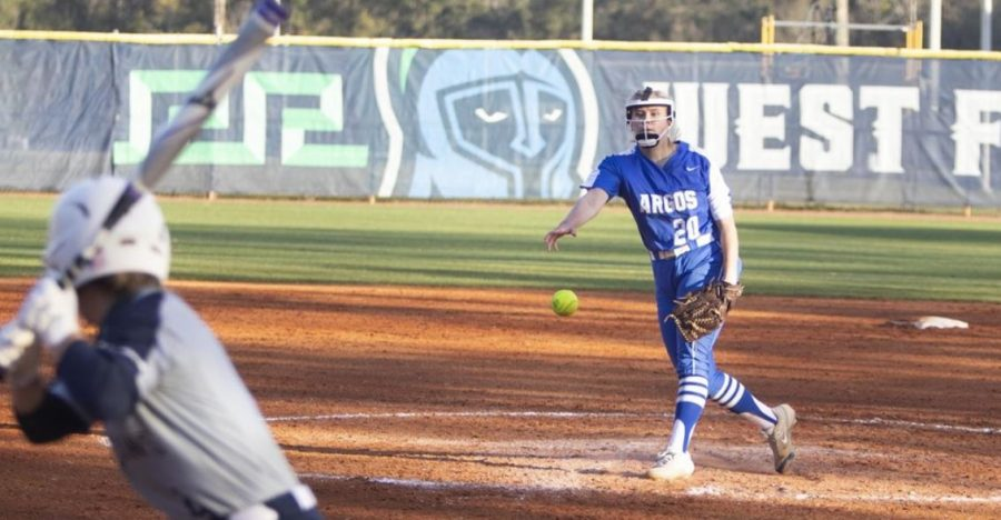 Argos Softball Dominate Choctaws 6-2, 8-1
