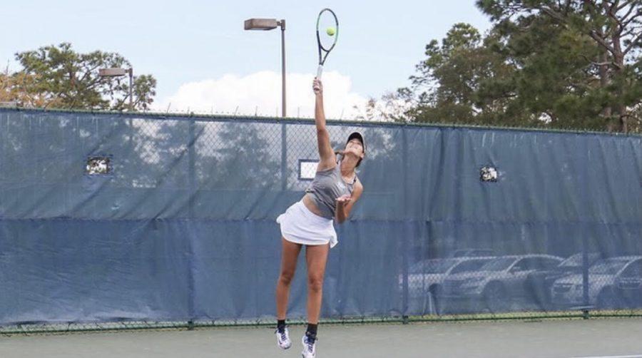 Women's Tennis defeats Xavier (La.) 6-1