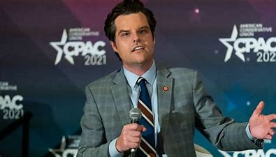 Gaetz Finds Himself Center of Controversy and Under Investigation