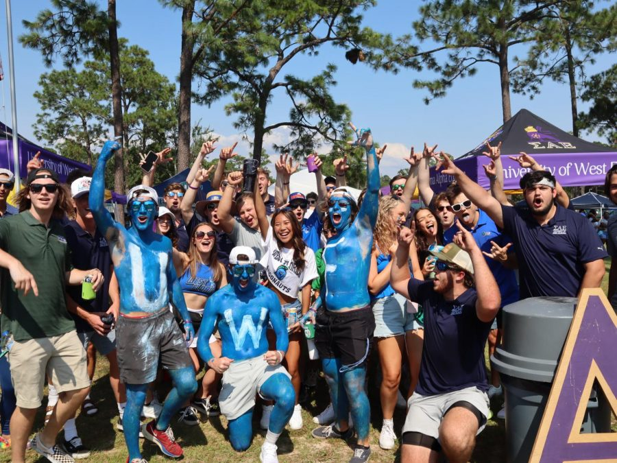 UWF hosts first campus football game