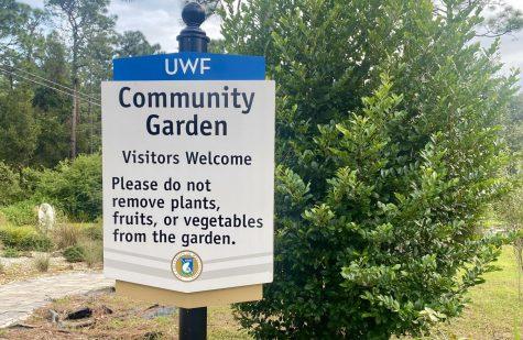 UWF Community Garden kicks off first volunteer workday of the semester